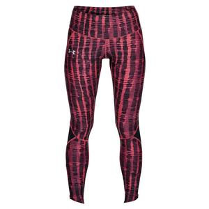 Women`s Armour Fly Fast Printed Tight Impulse Pink and Black