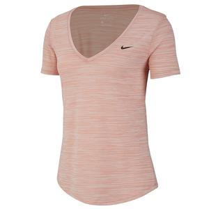 Women`s Dri-FIT Legend Short Sleeve Training Top Pink Quartz