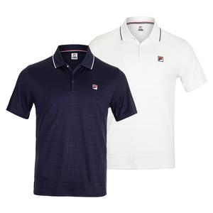 Men`s Heritage Drop Needle Tennis Polo