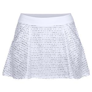 Women`s Links Printed Skort White