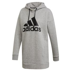 Women`s Must Haves Badge of Sport Hoodie Medium Grey Heather