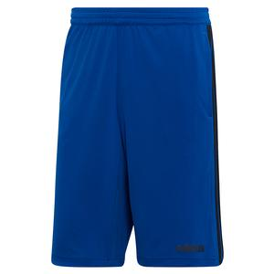 Men`s Designed2Move 3-Stripes Cool Short Collegiate Royal and Black