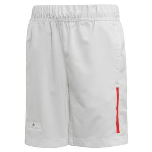 Boys` Stella McCartney 5 Inch Tennis Short White