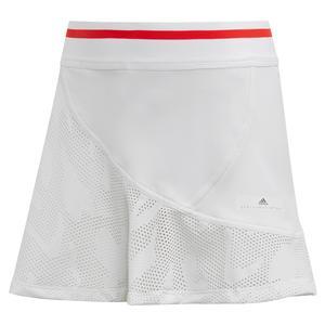 Girls` Stella McCartney Tennis Skort White