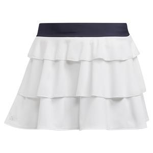 Girls` Frill Tennis Skort White