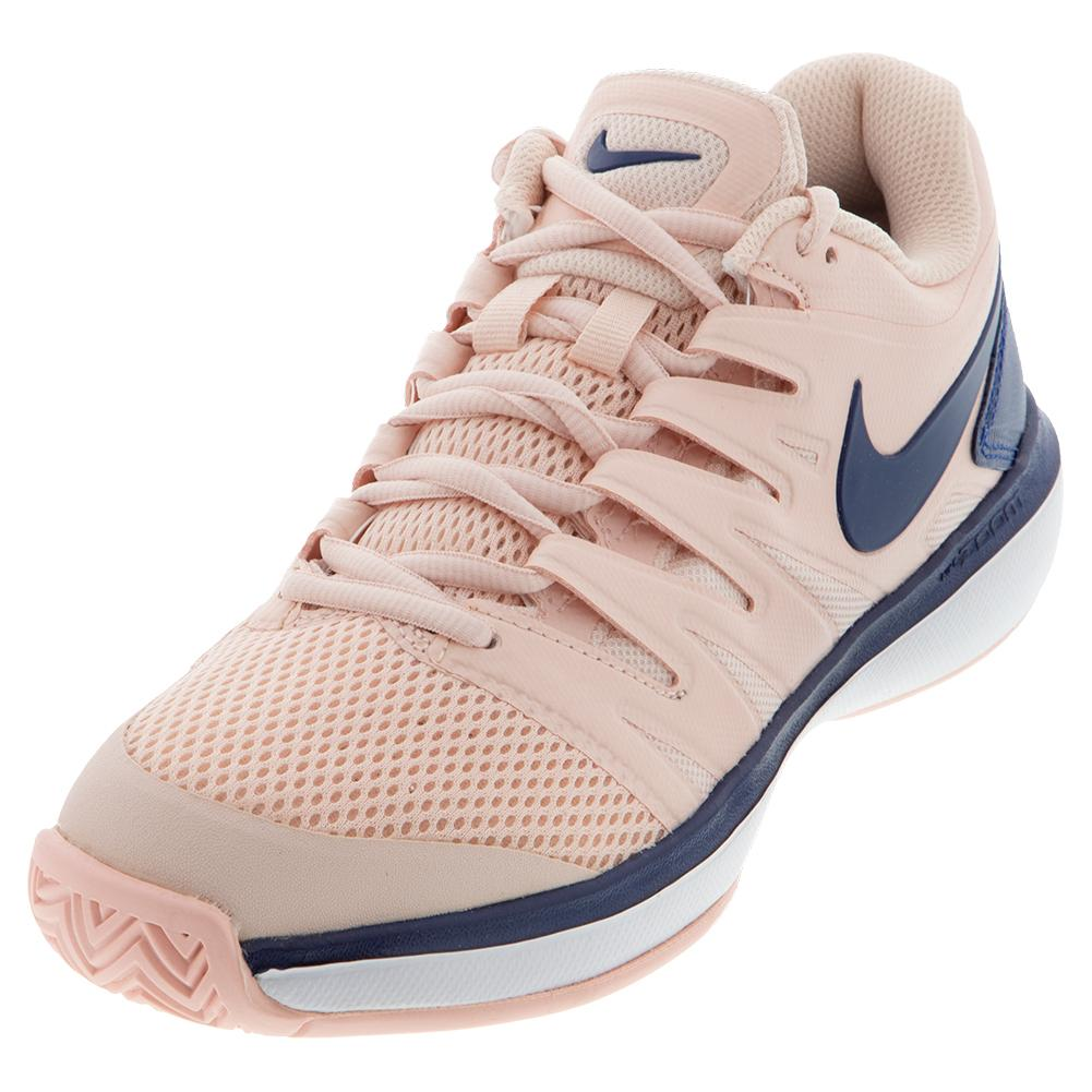 Women's Air Zoom Prestige Tennis Shoes Echo Pink And Coastal Blue