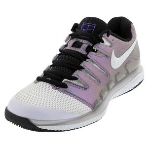 Women`s Air Zoom Vapor X Tennis Shoes Multi Color and White