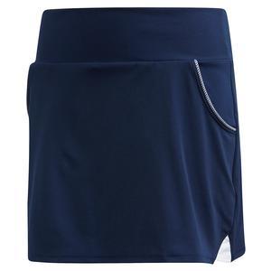 Girls` Club Tennis Skort Collegiate Navy