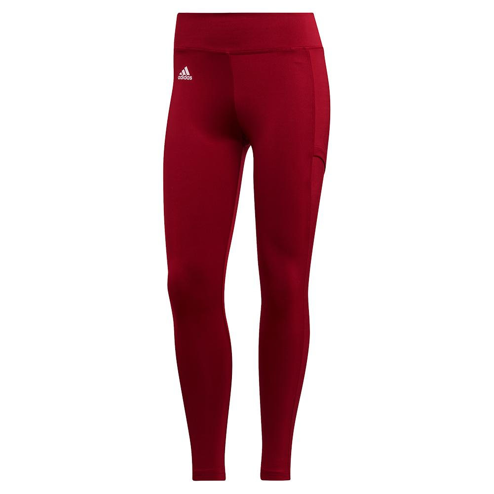 Women's Club Tennis Tight Collegiate Burgundy