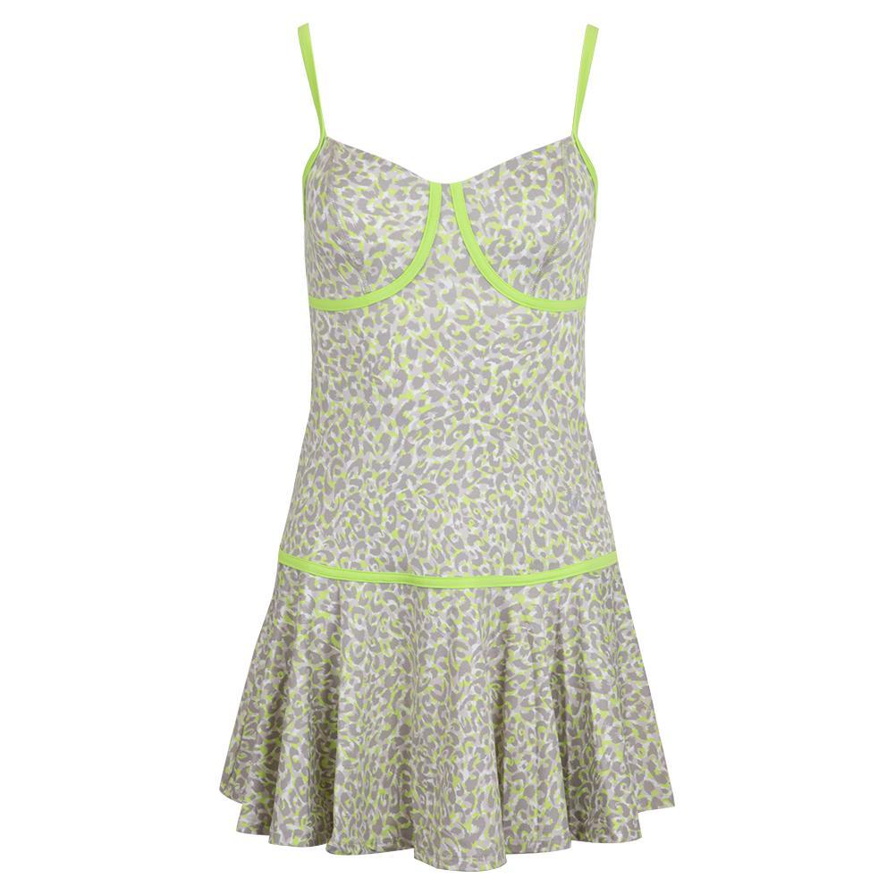 Women's Pounce Tennis Dress Love Leopard Print