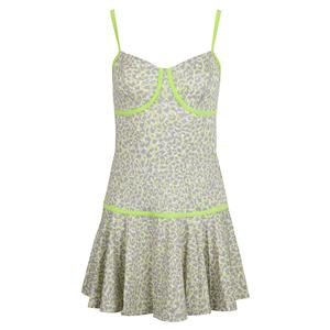 Women`s Pounce Tennis Dress Love Leopard Print