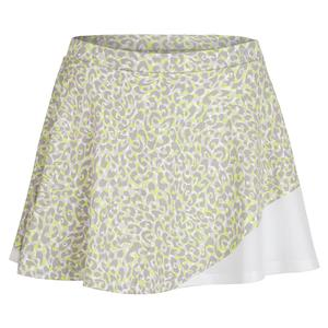 Women`s Two Timed 13 Inch Tennis Skort Love Leopard Print
