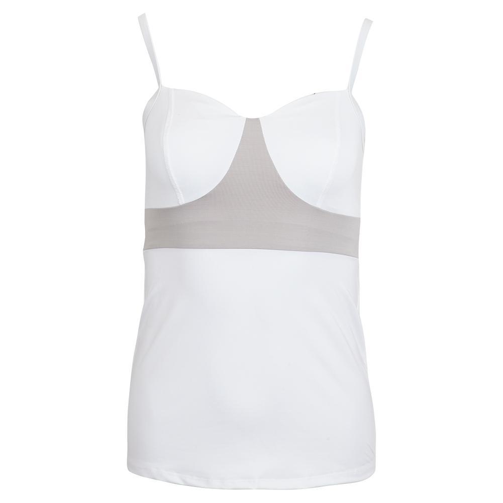 Women's Contour Tennis Tank White