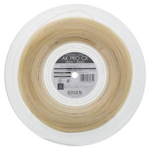 AK Pro CX 16G Natural Tennis String Reel