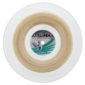AK Pro CX 17G Natural Tennis String Reel