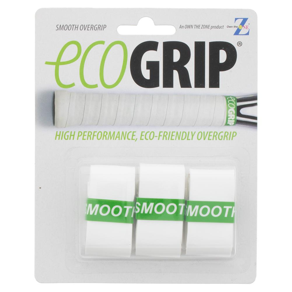 Smooth Tennis Overgrip 3 Pack White