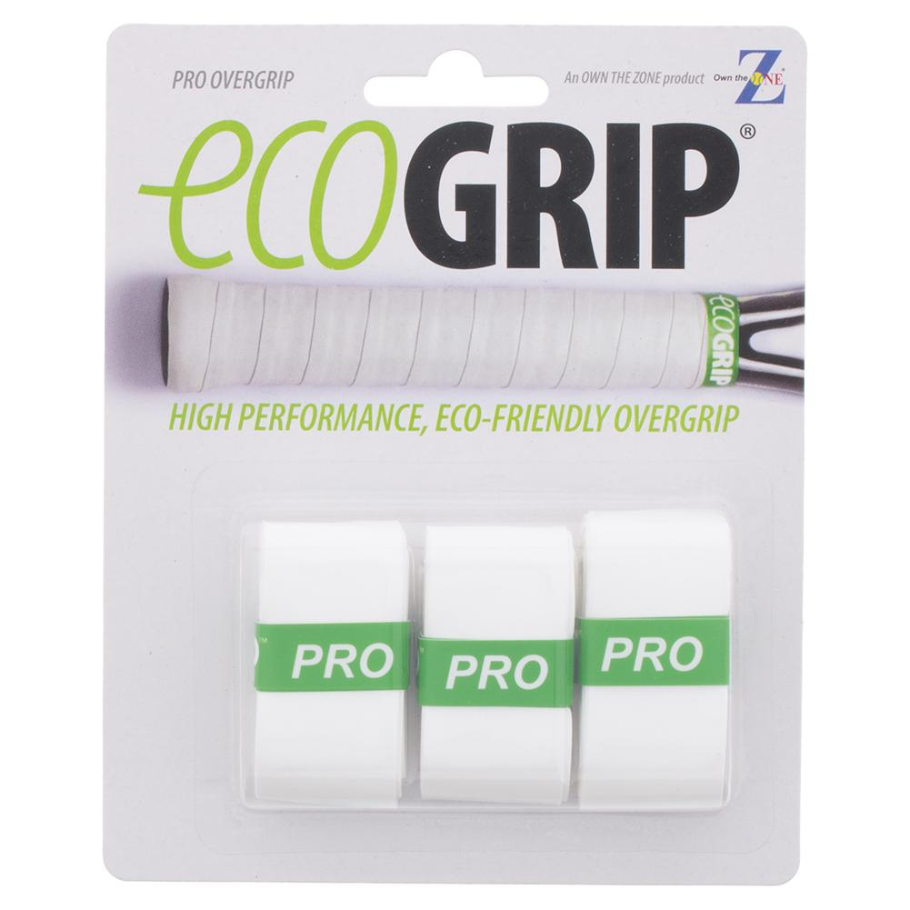Pro Tennis Overgrip 3 Pack White