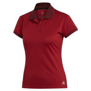 Women`s Club Tennis Polo Collegiate Burgundy