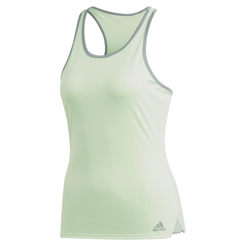 Women's Club Tennis Tank Glow Green