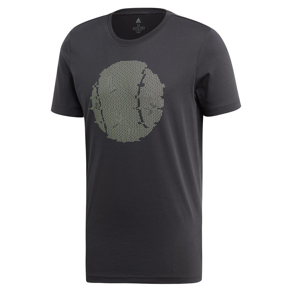 Men's Ny Flushing Graphics Tennis Tee Carbon