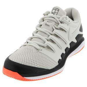 Men`s Air Zoom Vapor X Tennis Shoes Light Bone and Black