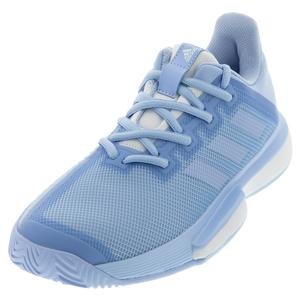Women`s SoleMatch Bounce Tennis Shoes Glow Blue and White