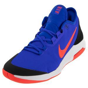Men`s Air Max Wildcard Tennis Shoes Racer Blue and Bright Crimson