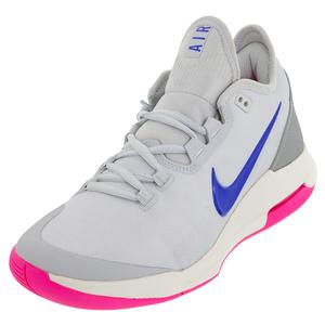 purchase cheap a5d40 a3433 NEW Women`s Air Max Wildcard Tennis Shoes Platinum and Racer Blue Nike ...