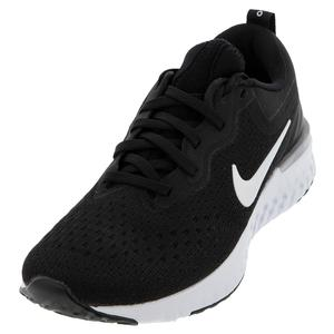 Women`s Odyssey React Running Shoes Black and White