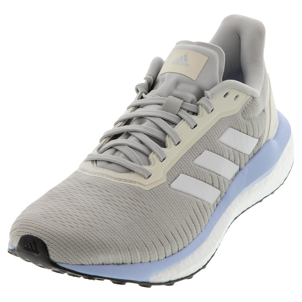 Women's Solar Drive 19 Running Shoes Gray Two And White