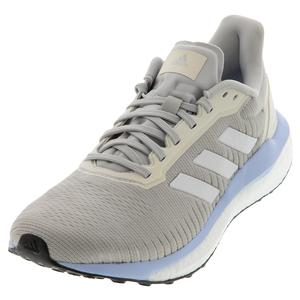 Women`s Solar Drive 19 Running Shoes Gray Two and White