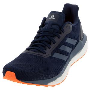 Men`s Solar Drive 19 Running Shoes Collegiate Navy and Tech Ink