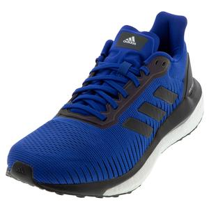 Men`s Solar Drive 19 Running Shoes Collegiate Royal and Core Black