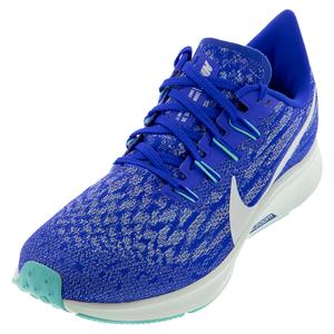 Women`s Air Zoom Pegasus 36 Running Shoes Racer Blue and Ghost Aqua