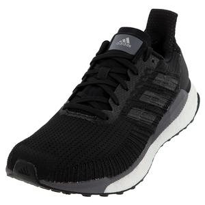 Men`s Solar Boost 19 Running Shoes Core Black and Carbon