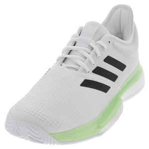 Men`s SoleCourt Boost Tennis Shoes White and Core Black