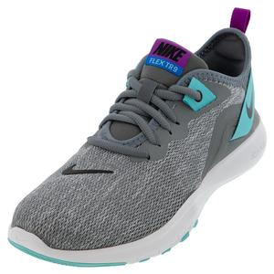 Women`s Flex TR 9 Training Shoes Cool Gray and Black