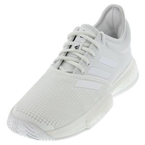 Women`s SoleCourt Boost Parley Tennis Shoes White