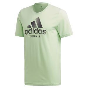 Men`s Category Logo Tennis Tee Glow Green