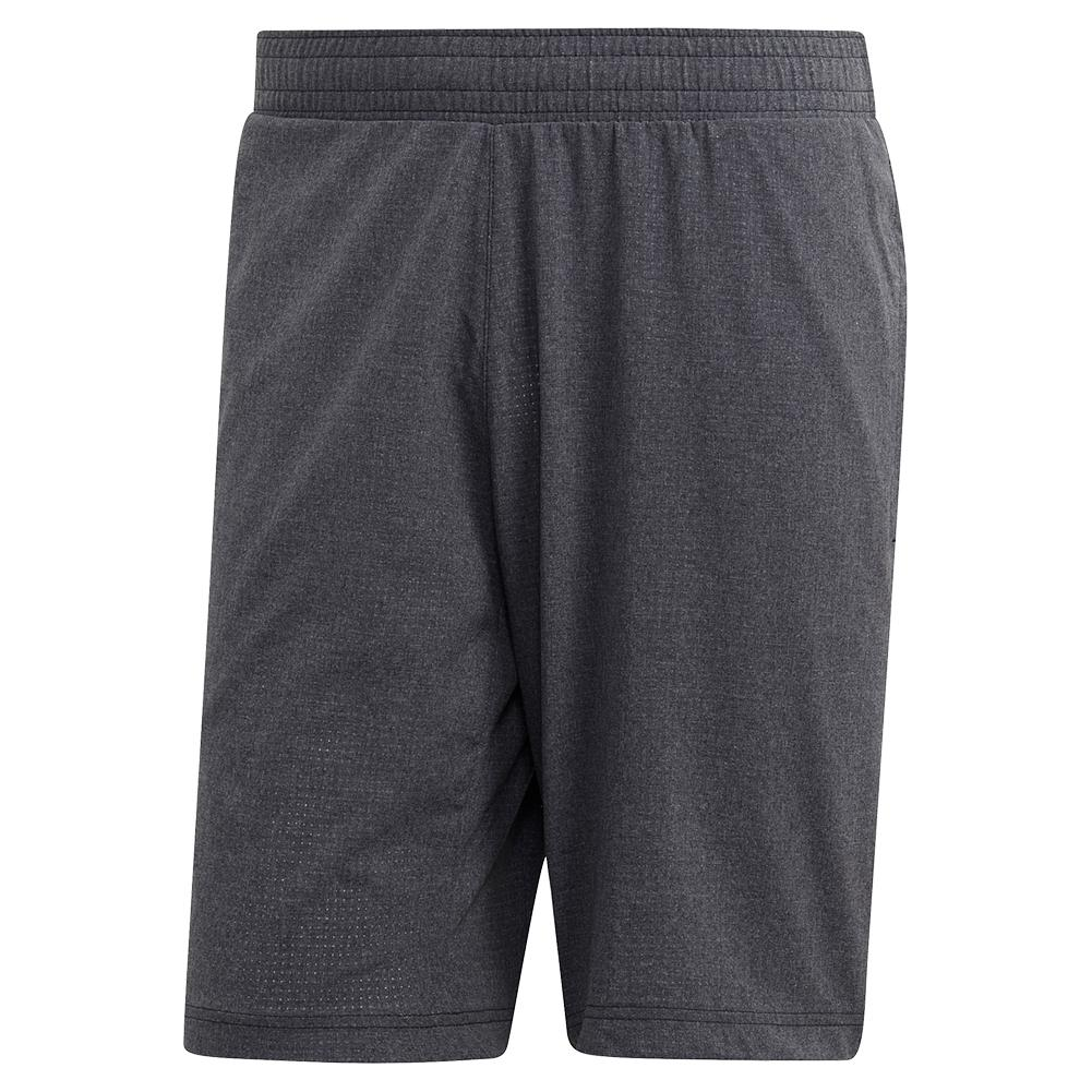 Men's Matchcode Ergonomic 9 Inch Tennis Short Dark Grey Heather