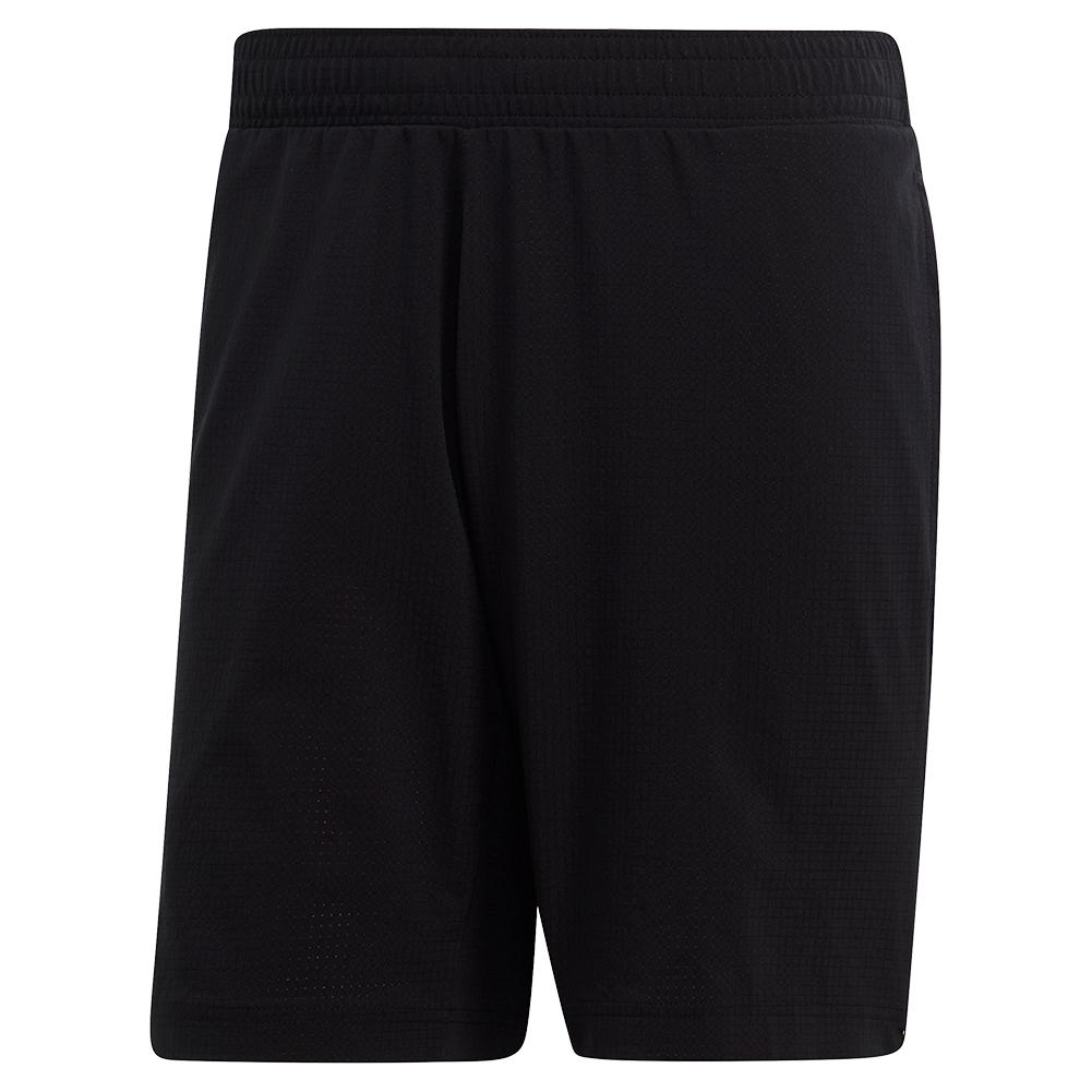 Men's Matchcode Ergonomic 7 Inch Tennis Short Black