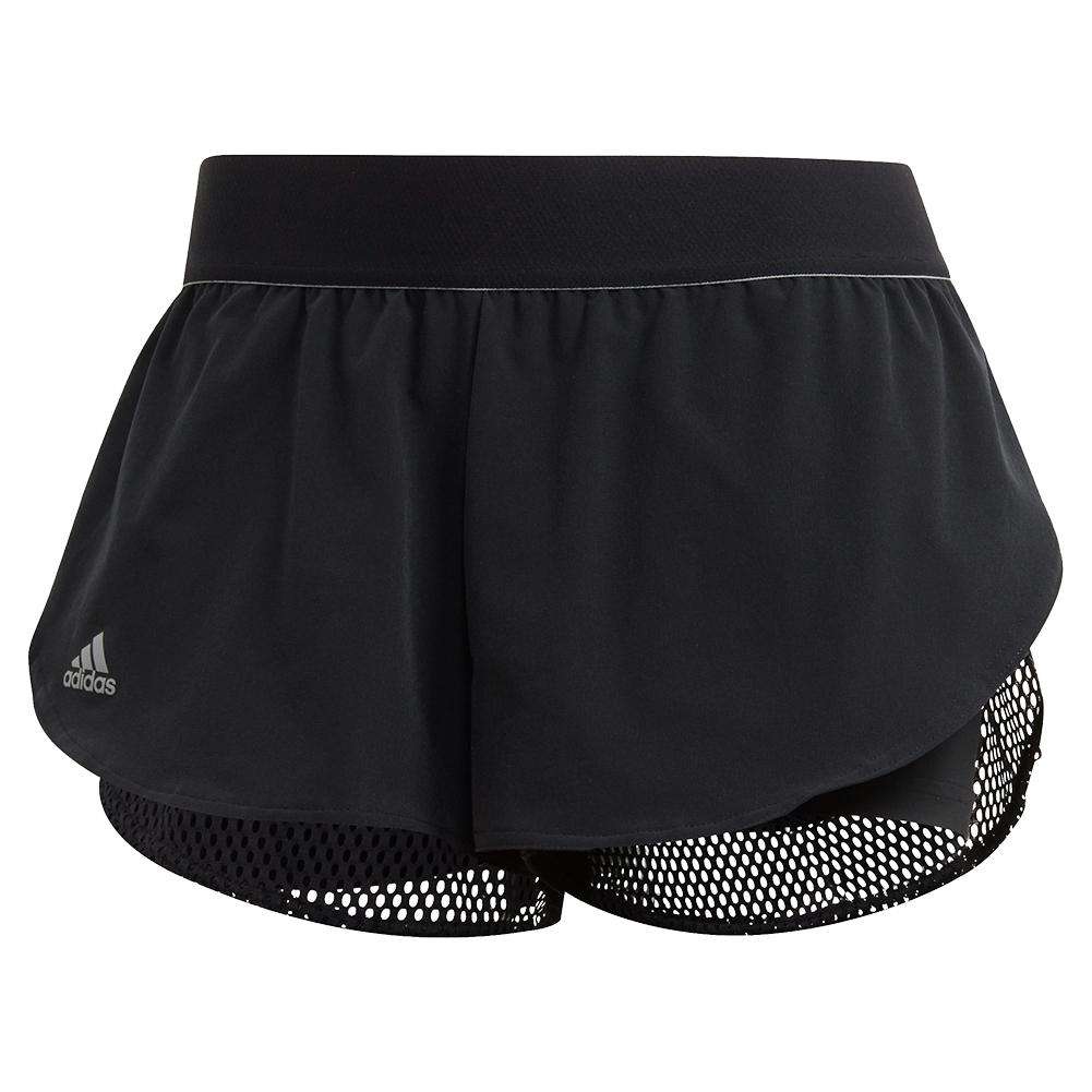 Women's Ny Tennis Short Black