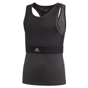 Girls` NY Tennis Tank Black