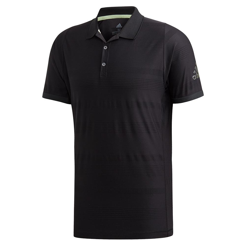 Men's Matchcode Tennis Polo Black