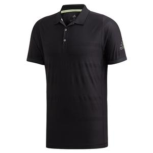 Men`s MatchCode Tennis Polo Black