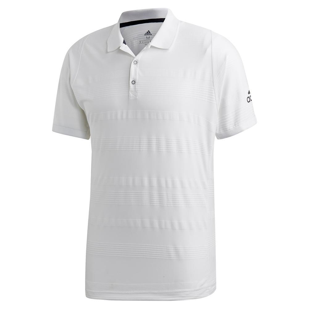 Men's Matchcode Tennis Polo White