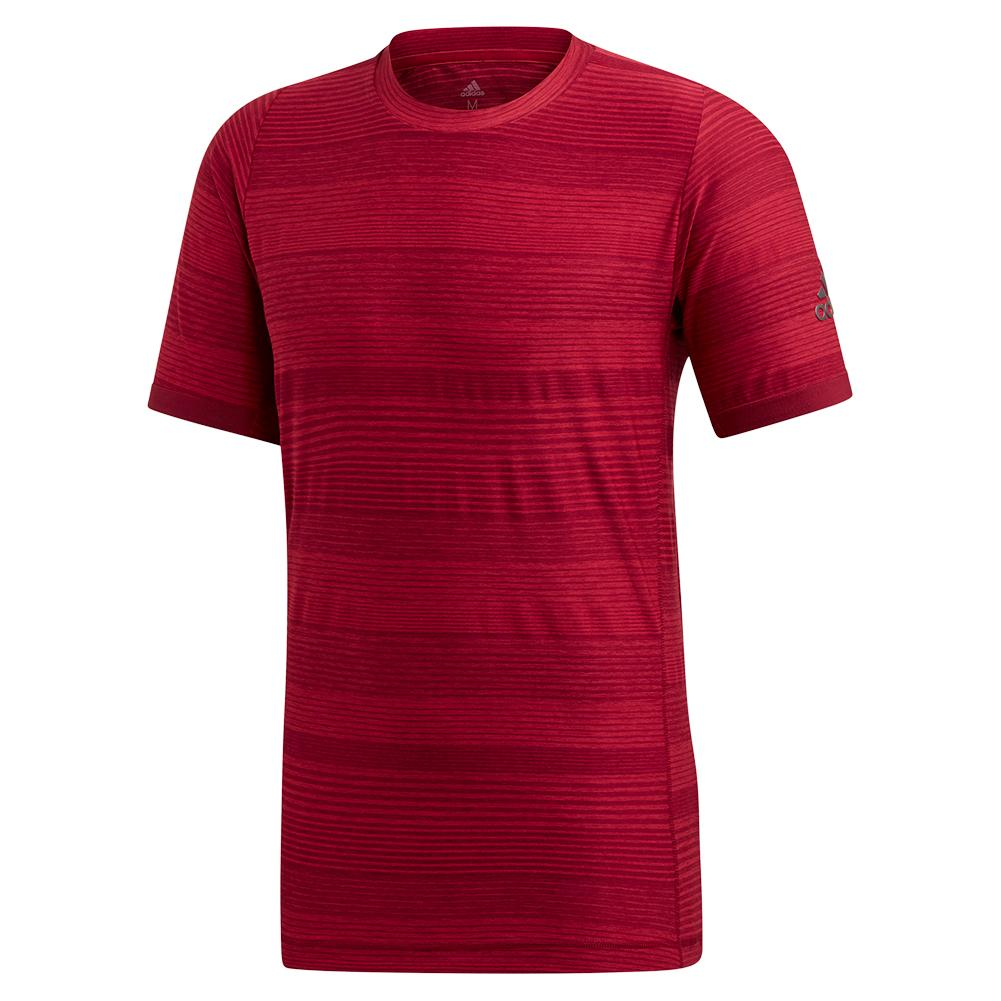 Men's Matchcode Tennis Top Collegiate Burgundy And Maroon