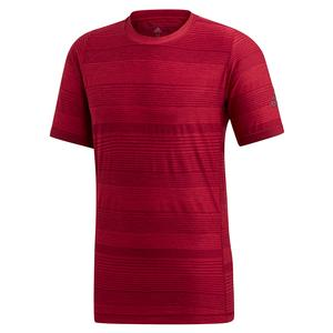 Men`s MatchCode Tennis Top Collegiate Burgundy and Maroon