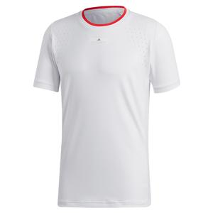 Men`s Stella McCartney Tennis Crew White