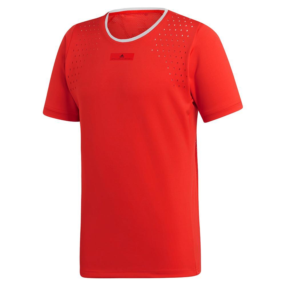 Men's Stella Mccartney Tennis Crew Active Red